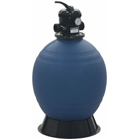 """main image of """"vidaXL Pool Sand Filter with 6 Position Valve Blue 560 mm - Blue"""""""