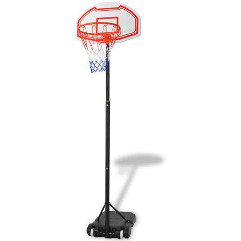 vidaXL Portable Basketball Hoop 250 cm - Multicolour
