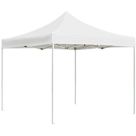 vidaXL Professional Folding Party Tent Aluminium 3x3 m Cream - Cream