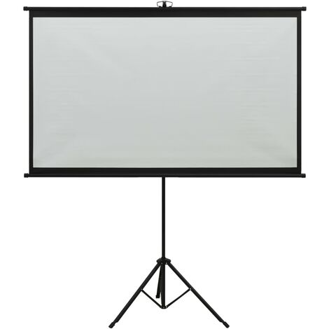 """main image of """"vidaXL Projection Screen with Tripod 50"""" 4:3"""""""