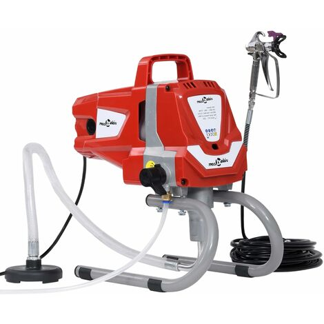 vidaXL Pulverizador de pintura de alta presión sin aire 1010 W
