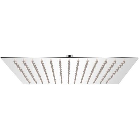 "main image of ""vidaXL Rain Shower Head Stainless Steel 20 cm Round - Silver"""