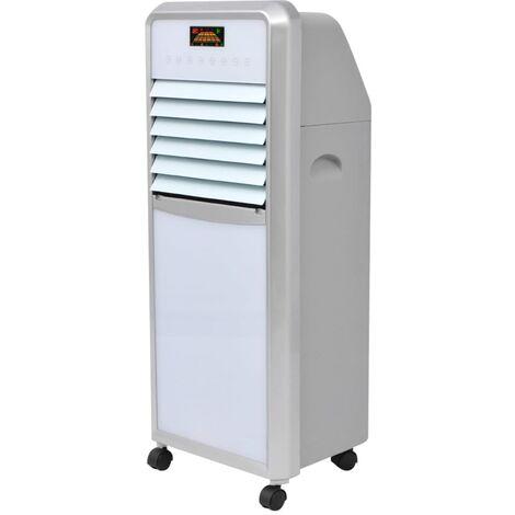 vidaXL Refrigerador de aire 120 W 15 L 648 m³/h - Gris