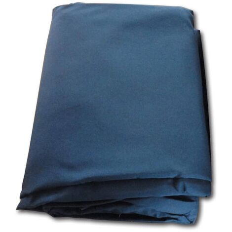 vidaXL Replacement Gazebo Cover Top Canvas Blue - Blue