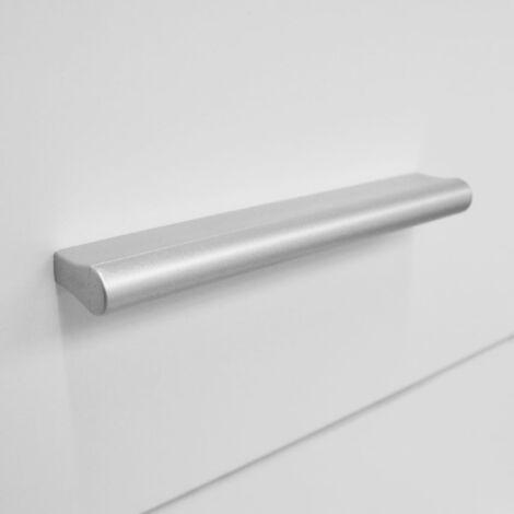 Schubladenschrank Spanplatte 71 x 35 x 108 cm Weiß -