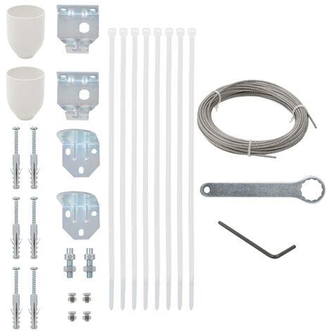 """main image of """"vidaXL Set de accesorios de montaje de toldo de balcón 29 piezas"""""""