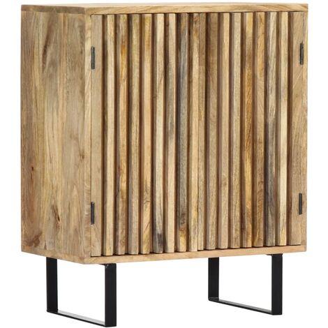 "main image of ""vidaXL Sideboard 60x35x75 cm Solid Mango Wood - Brown"""