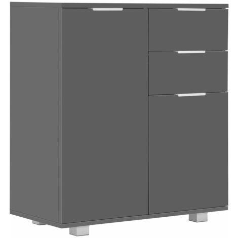 vidaXL Sideboard Durable Elegant Home Bedroom Living Room Storage Side Drawer Cabinet Cupboard Organiser Furniture Chipboard Multi Colours