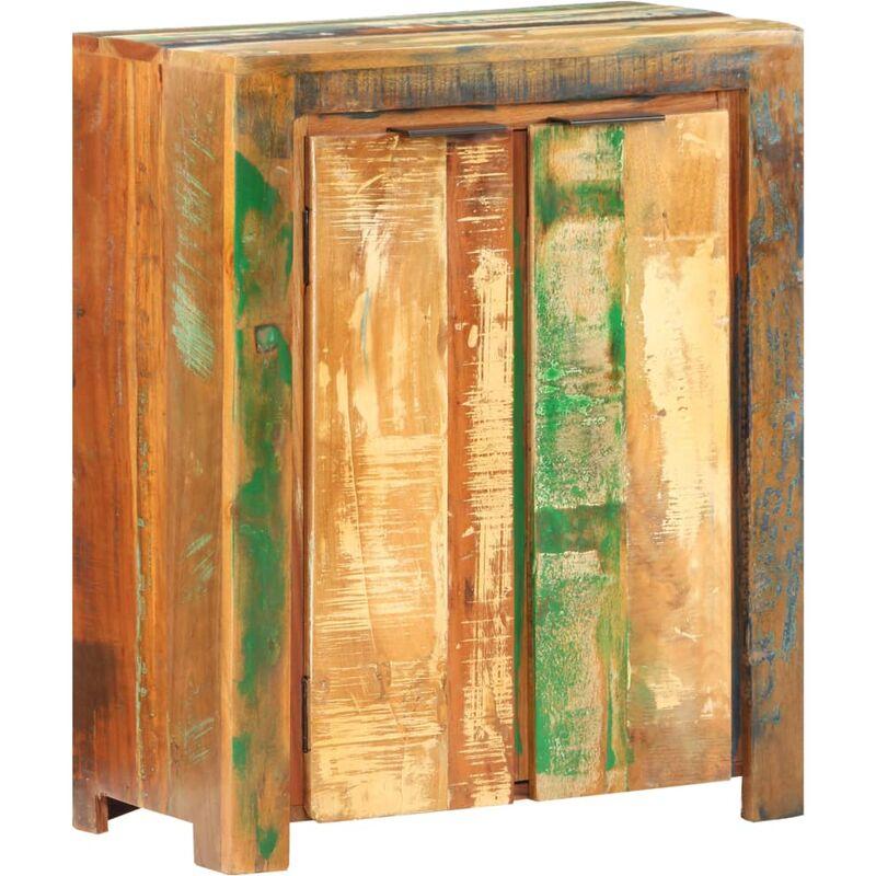 Vidaxl - Sideboard 59x33x75cm Recyceltes Massivholz