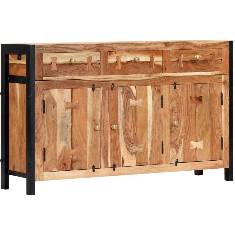 Sideboard 120x35x75cm Massivholz Akazie - VIDAXL