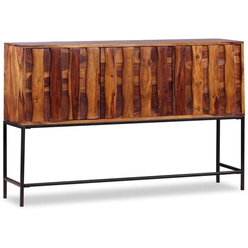 Sideboard Massivholz 120 x 30 x 80 cm - VIDAXL