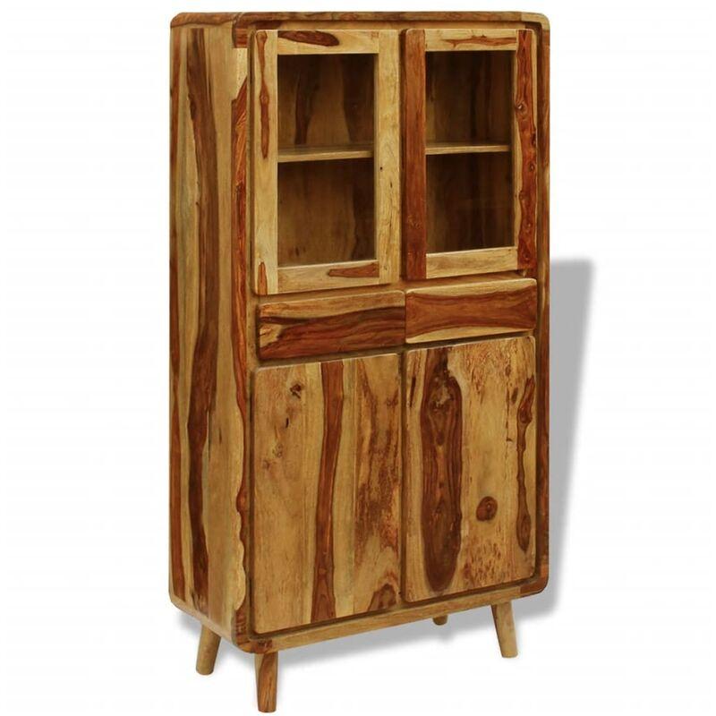 Sideboard Massivholz 90×40×175 cm - VIDAXL