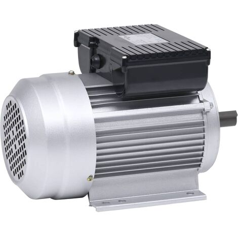 "main image of ""vidaXL Single Phase Electric Motor Aliminium 2.2kW/3HP 2 Pole 2800 RPM"""