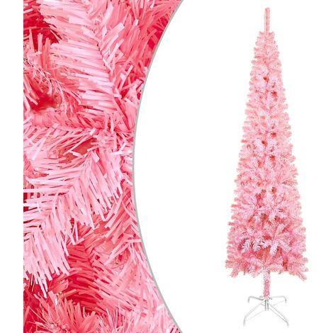 "main image of ""vidaXL Slim Christmas Tree Pink 120 cm"""