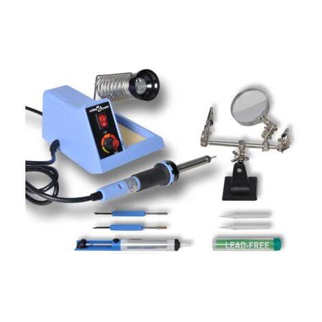 vidaXL Station analogique de soudage 48 W avec accessoires