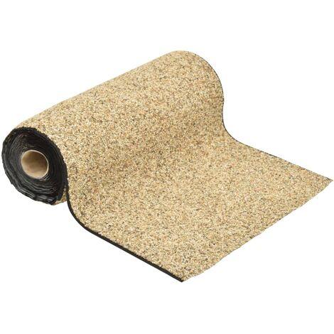 vidaXL Stone Liner Natural Sand 1000x40 cm
