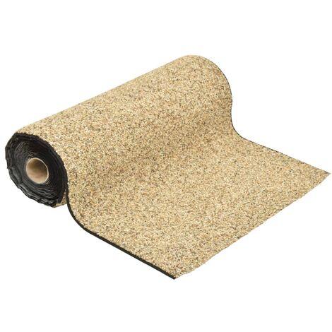 vidaXL Stone Liner Natural Sand 250x60 cm