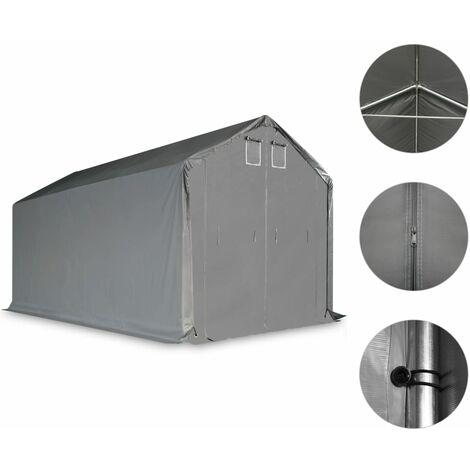 vidaXL Storage Tent PVC Grey Outdoor Canopy Garden Patio Marquee Multi Sizes