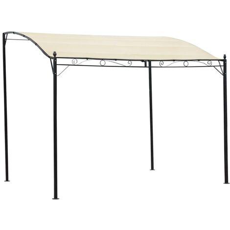 vidaXL Sunshade Awning 3x2,5 m 180 g/m² Taupe - Taupe