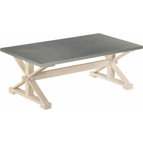 vidaXL Table Basse Table d\'Appoint Table de Canapé Meuble de Salon Bout de Canapé Salle de Séjour Maison Intérieur Multicolore Multi-matériau