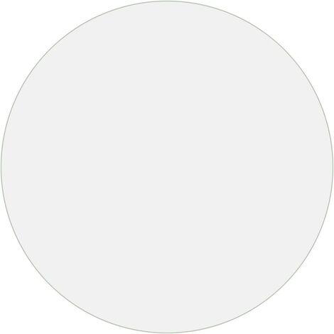 "main image of ""vidaXL Table Protector Transparent Ø 120 cm 2 mm PVC - Transparent"""