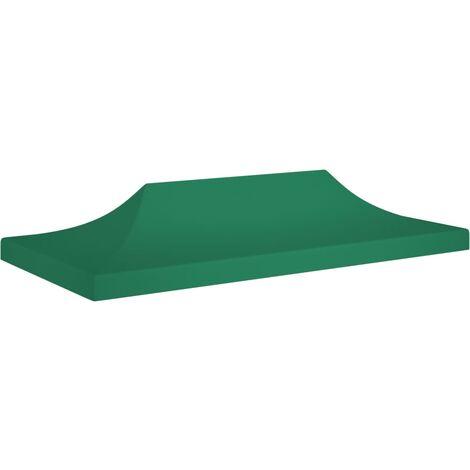 vidaXL Techo de carpa para celebraciones verde 6x3 m 270 g/m² - Verde