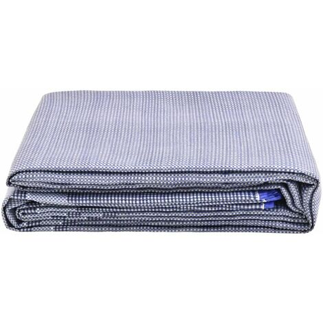 vidaXL Tent Carpet 250x200 cm Blue - Blue