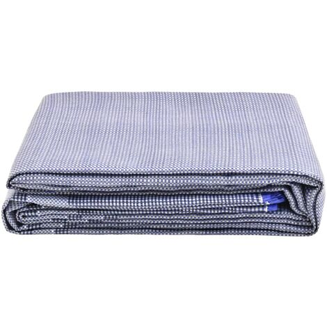 vidaXL Tent Carpet 250x250 cm Blue - Blue