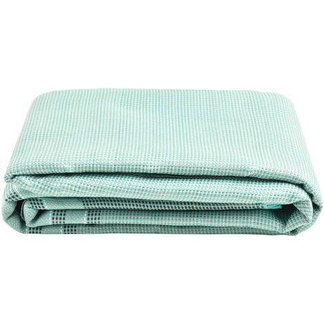 vidaXL Tent Carpet 250x250 cm Green - Green