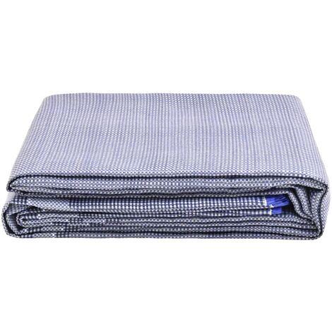 vidaXL Tent Carpet 350x250 cm Blue - Blue