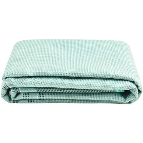 vidaXL Tent Carpet 400x250 cm Green - Green