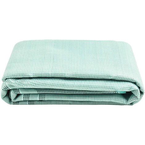 vidaXL Tent Carpet 450x250 cm Green - Green