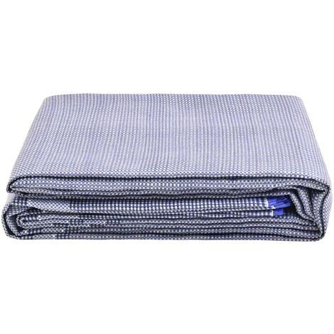 vidaXL Tent Carpet 650x250 cm Blue - Blue