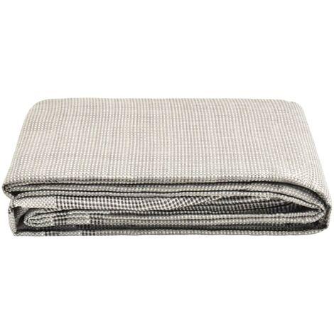 vidaXL Tent Carpet 650x250 cm Dark Grey - Grey