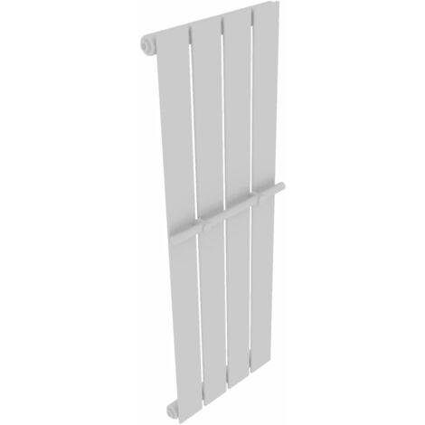 vidaXL Termosifone Radiatore Bianco a Infrarossi in Acciaio Pannello Riscaldante Riscaldamento Casa Bagno Calorifero Stufa Misure Diverse