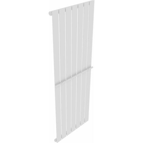 vidaXL Toallero Estante Calefactor de Toalla para Cuarto de Baño Panel de Calefacción Aseo Portatoallas Acero Blanco Diferenres Tamaños