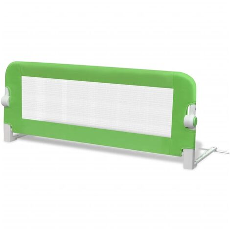 vidaXL Toddler Safety Bed Rail Baby Child Kids Nursery Rail Bedroom Protective Gate Home Bed Room Furniture 102 x 42 cm/150 x 42 cm Multi Colour