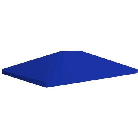 Vidaxl Toile Superieure De Belvedere 310 G/M2 4X3 M Bleu