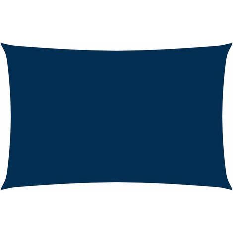 vidaXL Toldo de vela rectangular tela oxford azul 3x6 m - Azul
