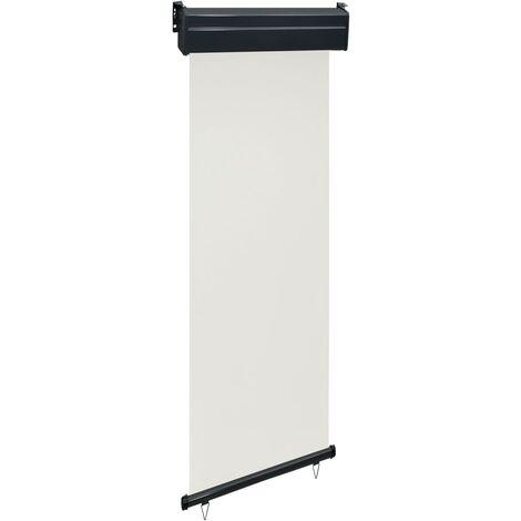 vidaXL Toldo lateral de balcón negro 60x250 cm - Negro
