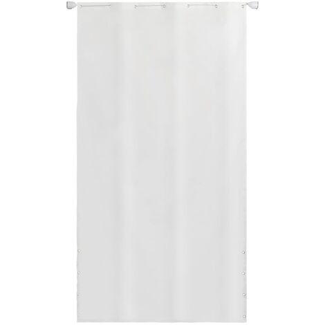 vidaXL Toldo vertical tela oxford blanco 140x240 cm - Blanco