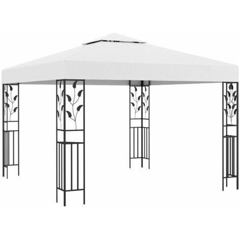 vidaXL Tonnelle Belvédère de Patio Chapiteau de Jardin Pavillon d'Extérieur Mariage Fête Camping Pique-nique Tente de Réception Multicolore