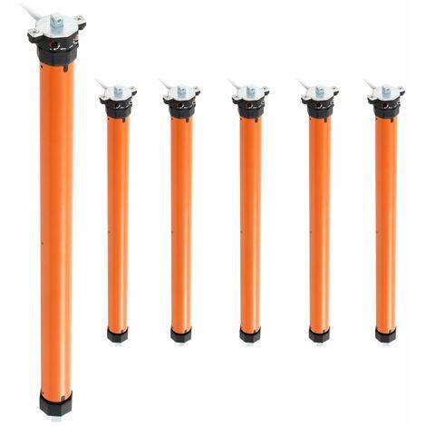 vidaXL Tubular Motors 6 pcs 10 Nm