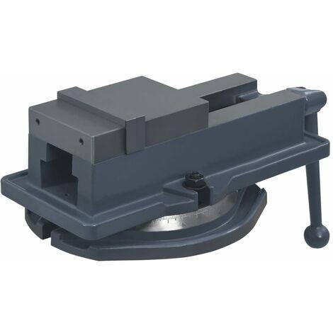 vidaXL Turntable Vice Machine Cast Iron 100 mm
