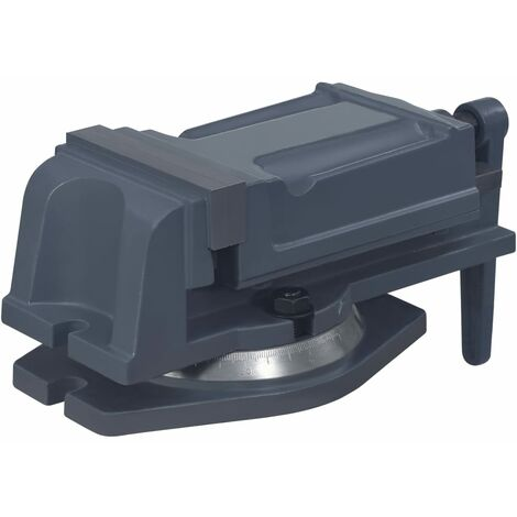vidaXL Turntable Vice Machine Cast Iron 125 mm