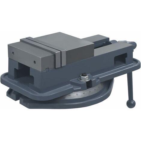 vidaXL Turntable Vice Machine Cast Iron 160 mm