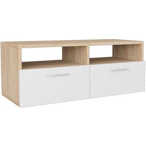"main image of ""vidaXL TV Cabinet Chipboard 95x35x36cm Home Storage Unit Stand Multi Colours"""