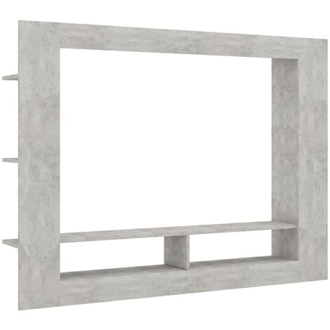 """main image of """"vidaXL TV Cabinet TV Stand Sideboard Living Room Furniture Hifi Media Unit Entertainment Units Sideboards Chipboard 152x22x113cm Multi Colours"""""""