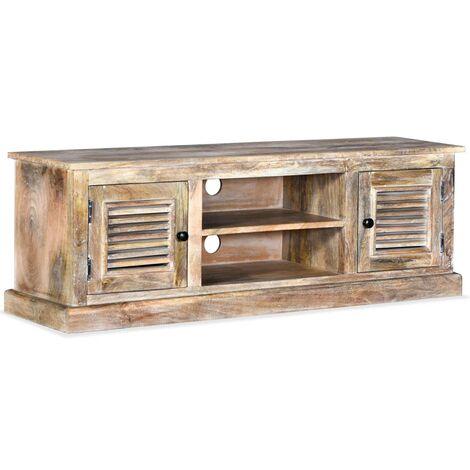 vidaXL TV Cabinet Solid Mango Wood - Brown