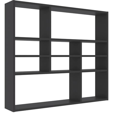 """main image of """"vidaXL Wall Shelf Bedroom Living Room Office Shelving Floating Hanging Wall Mounted Rack CD Display Cabinet Chipboard Multi Colours"""""""